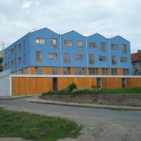 Miroslav - bytový dům, 15 b.j.+ 10 garáží