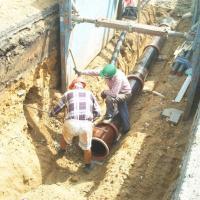 Zbýšov - kanalizace