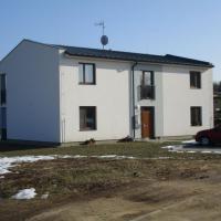 Velký Karlov - výstavba bytového domu o 4 bytových jednotkách