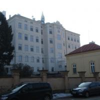 Domov důchodců Božice - oprava fasády hlavní budovy
