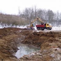 Vémyslice - revitalizační rybník