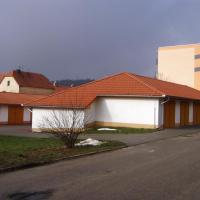 Zbýšov - dostavba sídliště,garáže a sklepy
