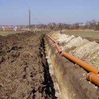 Havraníky - splašková kanalizace