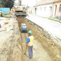 Vémyslice - ČOV a splašková kanalizace
